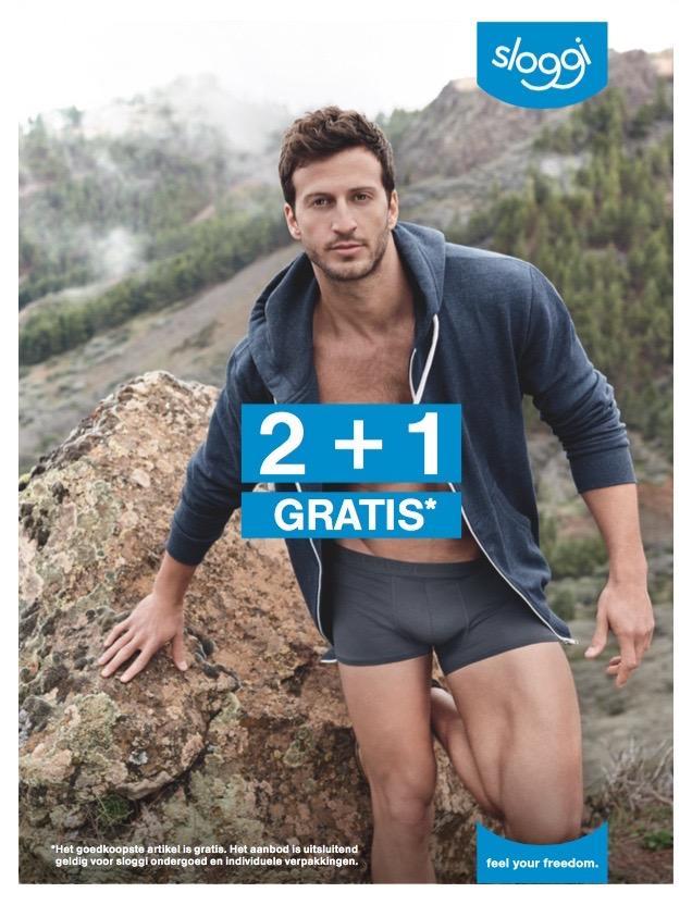 sloggi actie 2+1 gratis – lingerie loraine echt